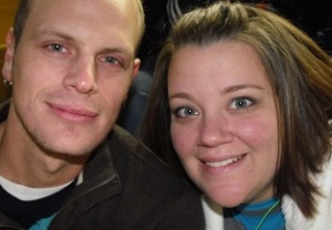 Youth Pastor Job Fox and wife Nicole